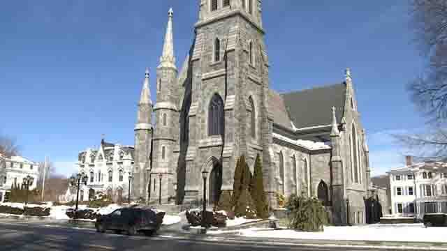 Churches are taking precautions to prevent the flu (WFSB)