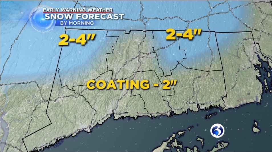 A quiet Saturday, snow on the way Sunday
