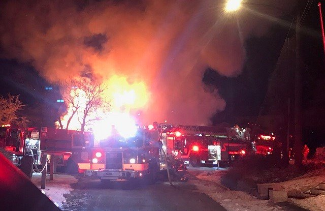 A fire on Knowles Road in East Hampton destroyed a home in less than one hour. (WFSB)