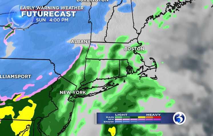 The northeast Early Warning Weather Futurecast Radar. (WFSB)