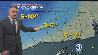 FORECAST Storm Far From In Focus But Snow Rain Expected For Wednesday