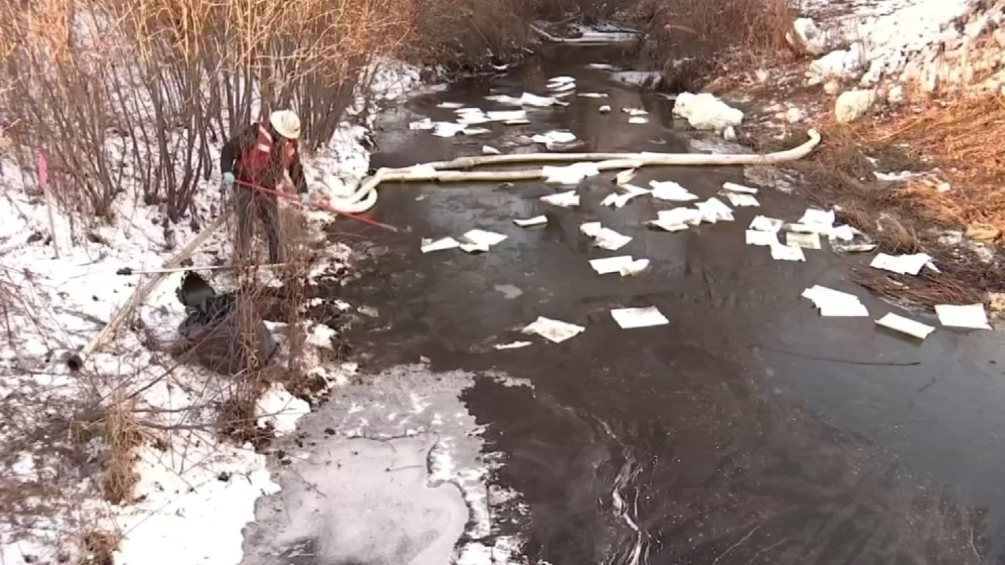 The State Bond Commission approved money to help cleanup the fuel spill in Newington (WFSB)