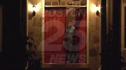 Police say the home of New England Patriots tight end Rob Gronkowski was robbed while he was away at the Super Bowl. (Fox 25/CNN)