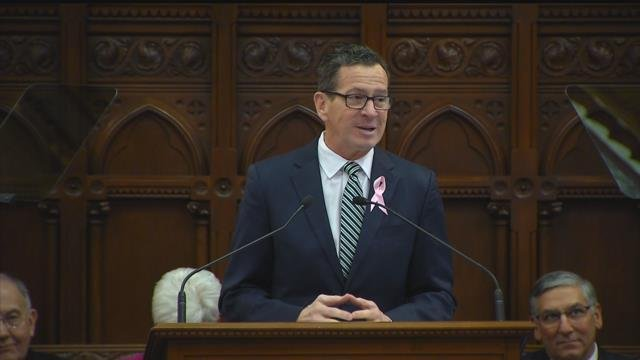 Gov. Dannel Malloy presented his final State of the State address on Wednesday, the first day of the legislative session. (WFSB)