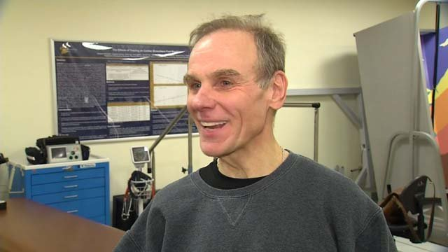 Lew Nescott is ready to climb Mount Kilimanjaro (WFSB)