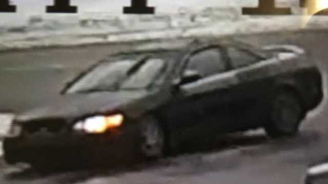 The suspect was driving what appeared to be a green, older model Honda Accord. (Torrington police department)