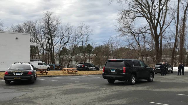 A third robbery suspect was apprehended on the Berlin Turnpike in Newington on Monday morning. (WFSB)