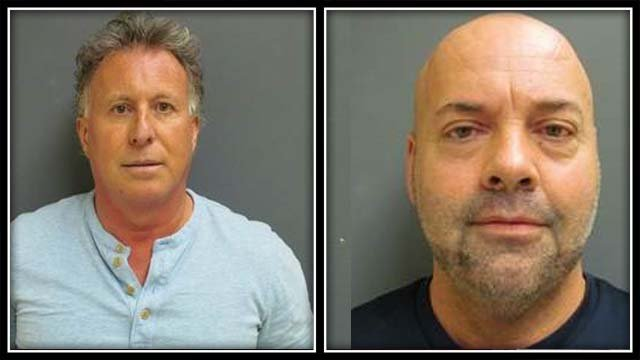 David Mortimer and Kenneth McNeil are facing drug-related charges (Waterford Police)