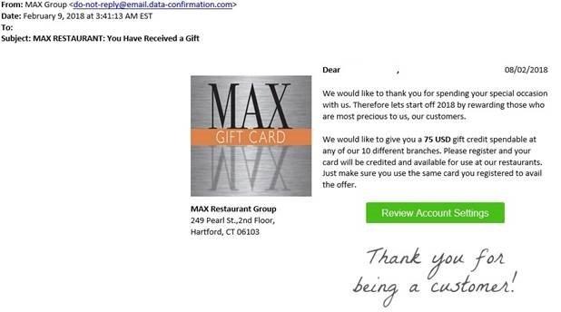 Courtesy Max Restaurant Group.