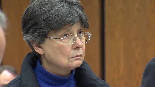 Linda Kosuda-Bigazzi at a recent court appearance (WFSB)