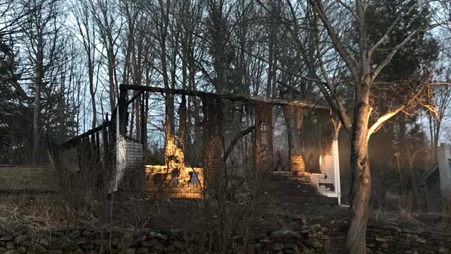 According to fire officials, calls came in reporting thefire at 26 Papermill Rd. just after 3 a.m. on Wednesday. (WFSB)