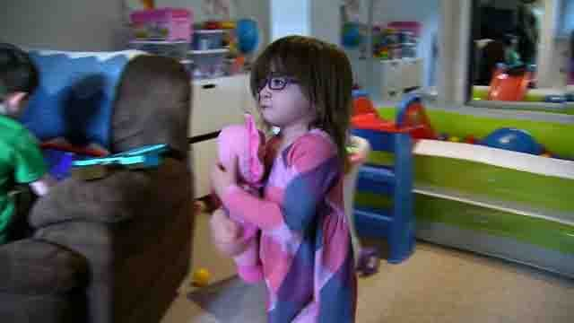 At just 2 years old, little Ellie is already in the fight of her life (WFSB)