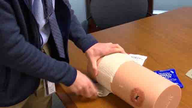 A CT medical student is working to train others how to be come immediate responders (WFSB)
