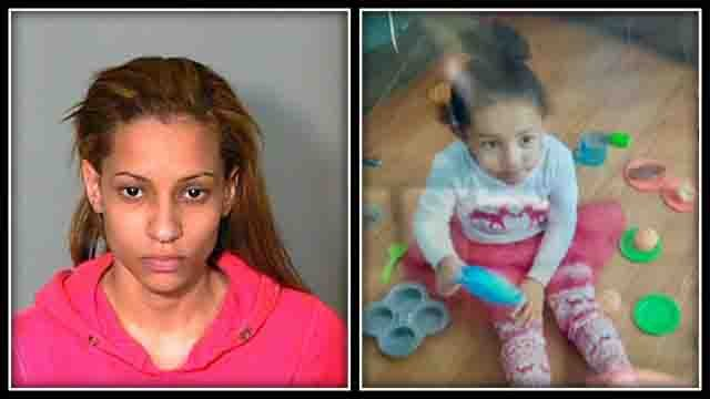 Police said India Quinones took her child from a hospital without having any parental custody rights (New London Police)