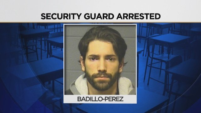 Video: Security guard at CREC school faces sex assault charges