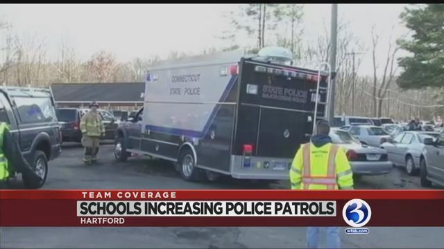 Police increase presence at schools in wake of Florida shooting