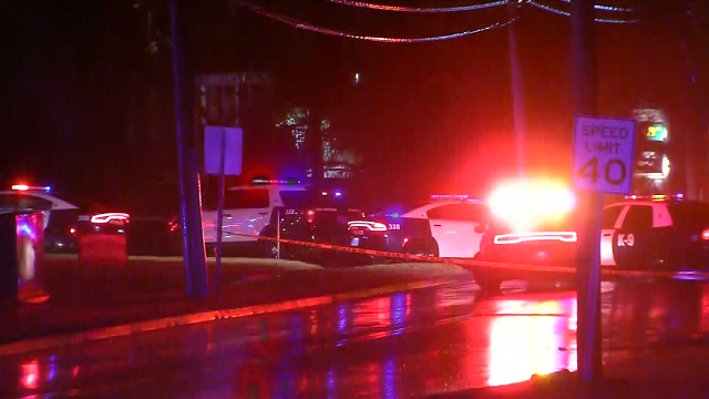 Car chase suspect shot by police has died