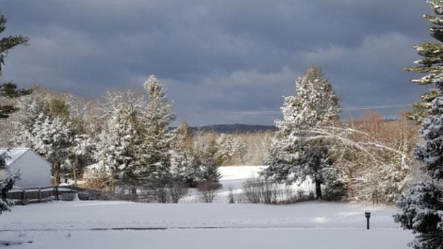 Winter Storm Dakota hit Stafford Springs. (Sheila Schultz)
