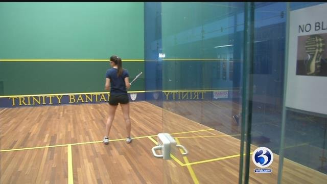 VIDEO: Trinity College squash a team of champions