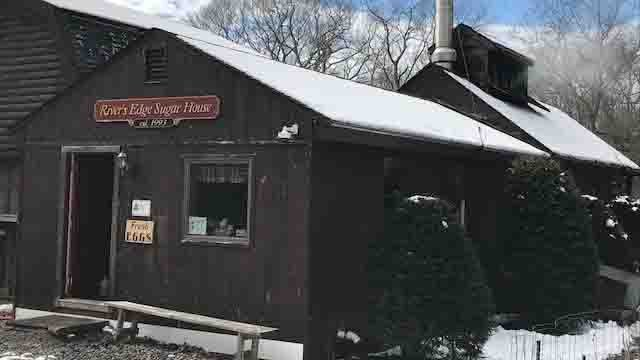 It's maple syrup harvesting season at the River's Edge Sugar House (WFSB)