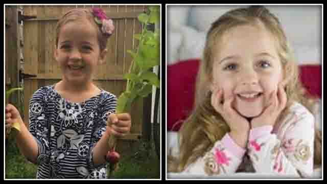 6-year-old Emma died over the weekend from complications with the flu (GoFundMe/family photos)