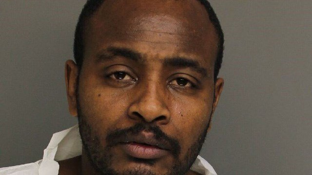 Richard Segabiro is accused of stabbing his niece to death, according to Bridgeport police. (Bridgeport police)