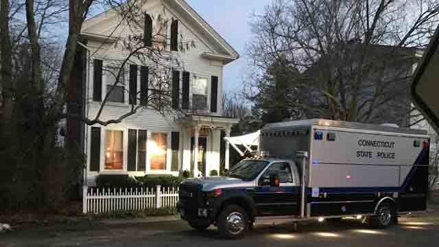 Two people were found dead inside a home in Essex on Tuesday (WFSB)