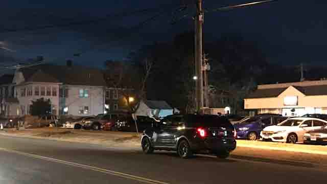 A person was hit by a car in West Haven on Tuesday (WFSB)