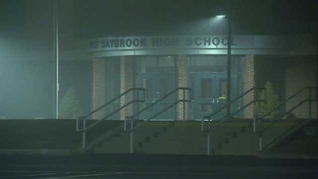 Police are expected to increase patrols at Old Saybrook schools (WFSB)