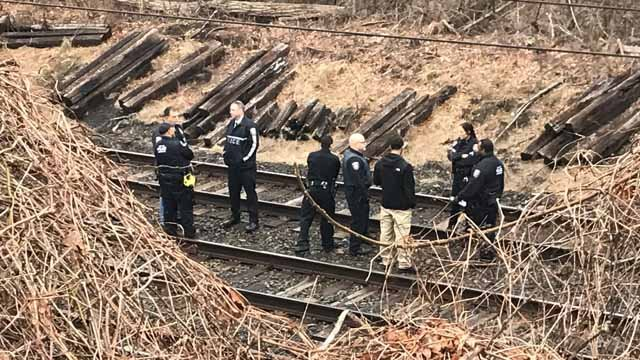 A man was struck and killed by a Metro-North train in Fairfield on Wednesday morning. (WFSB)