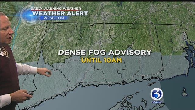FORECAST: Fog to burn off into record warmth