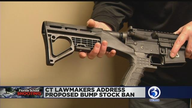 VIDEO: CT lawmakers welcome president's bump stock ban proposal