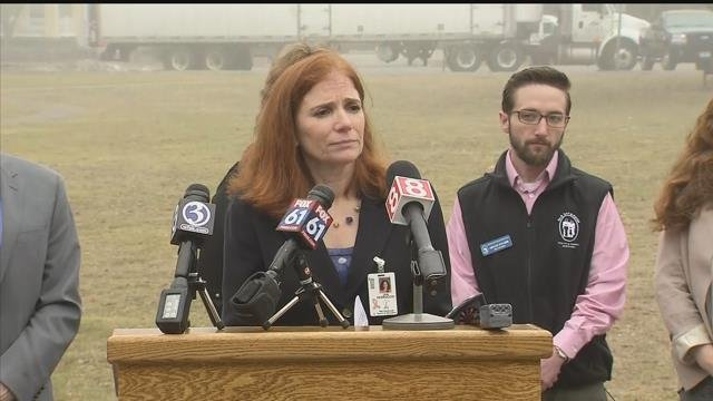Superintendent Jan Perruccio said the student who allegedly made the threat is not allowed on school grounds. (WFSB)