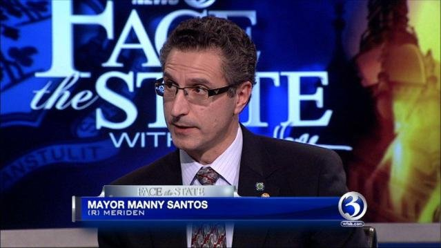 Former Meriden Mayor Manny Santos said he'll announce a run for Congress on Thursday. (WFSB file)