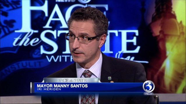 Former Meriden Mayor Manny Santos said he'll announce a run for Congress on Thursday. (WFSB file)