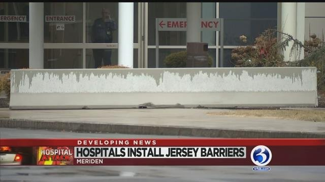 Video: Hospitals take precautions after man drives into Middlesex emergency dept.