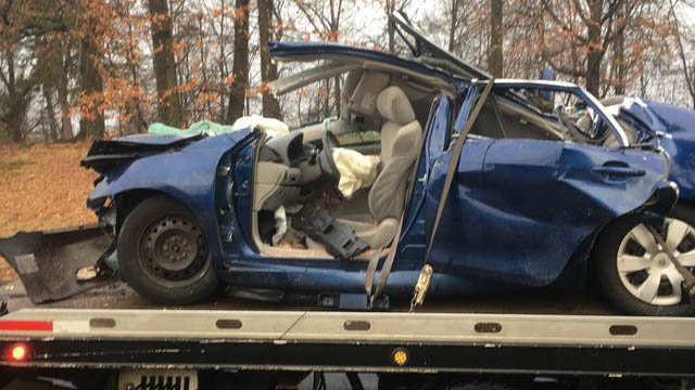 14-year-old charged in stolen vehicle crash at Trinity College