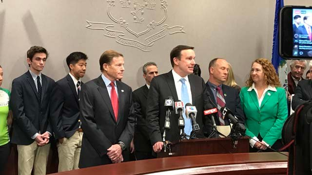 Students are joining lawmakers in the fight for gun control (WFSB)