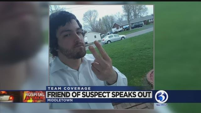 Video: Friend of hospital attack suspect speaks out