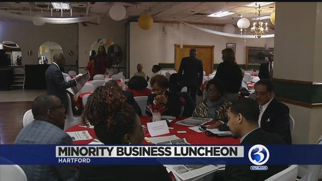 Video: Hartford minority business leaders honored