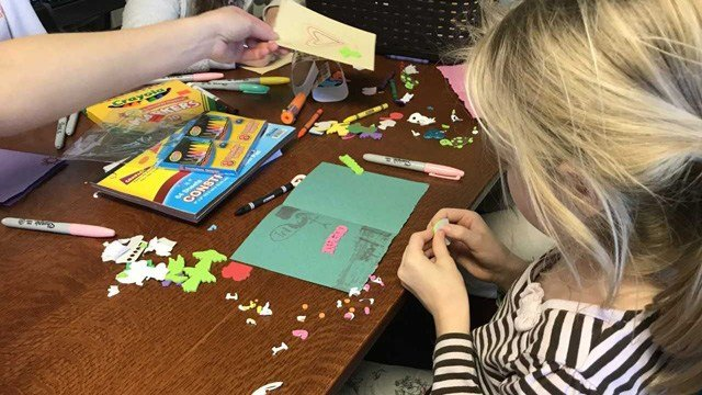 Cards of love and kindless for Parkland (WFSB)