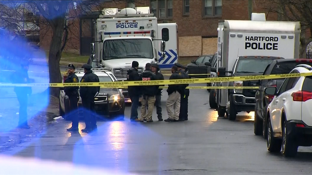 A man is dead after police said he was shot on Saturday afternoon in Hartford. (WFSB)