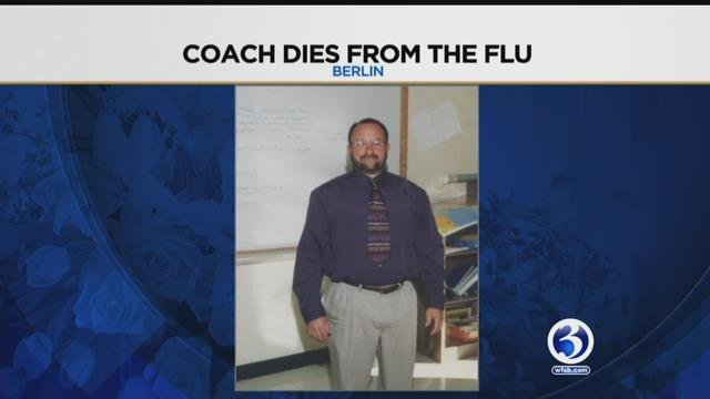 The community is mourning the loss of a wrestling coach in Berlin (submitted)