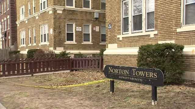 About 80 residents were forced to leave their apartment in New Haven (WFSB)