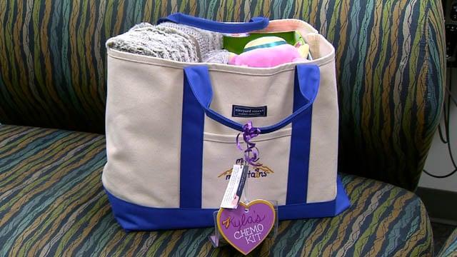 Kyla's Chemo Kits (WFSB)