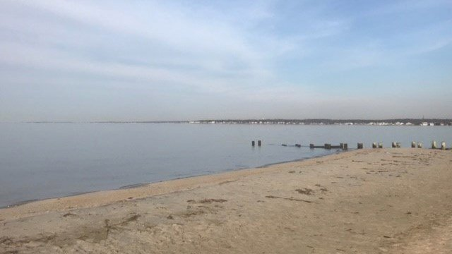 Old Saybrook was quiet Thursday ahead of an expected nor'easter. (WFSB)