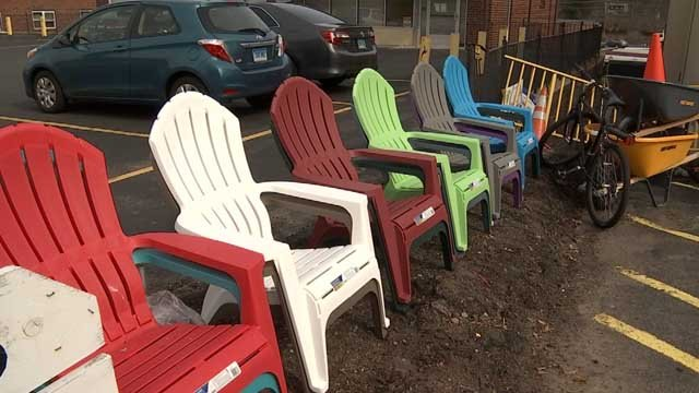 Lawn furniture is ready to be sold as spring gets closer (WFSB)