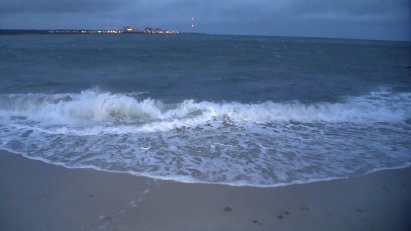 Windy conditions were reported in Niantic on Friday. (WFSB)