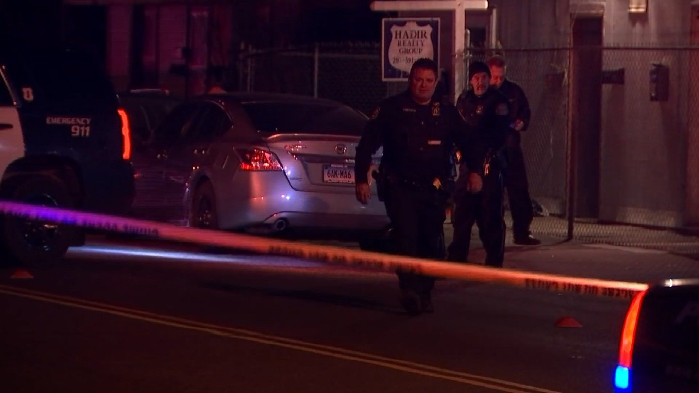 A man was shot and killed on Baldwin Street in Waterbury on Monday night. (WFSB)