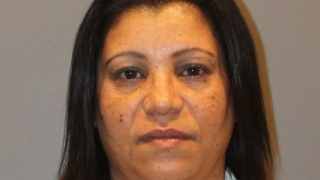 Blanca Quinones is accused of stealing a customer's identity to open credit cards while working at Liberty Tax Service in Stratford. (Stratford police)